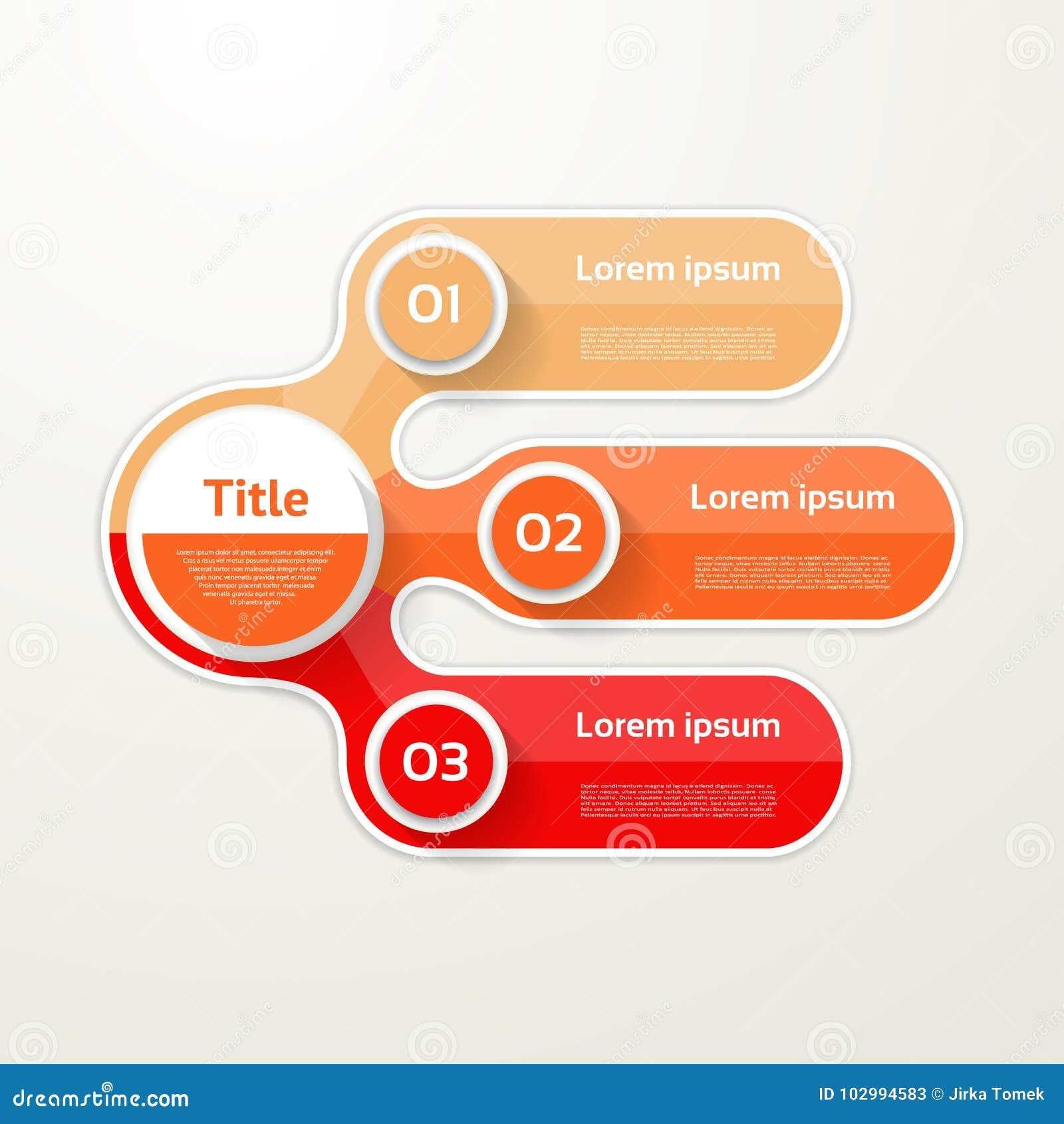 三个元素横幅 3步设计,绘制, infographic,步