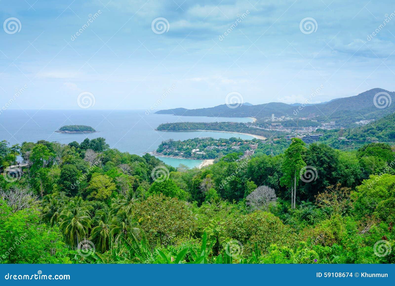 三个海湾海滩普吉岛