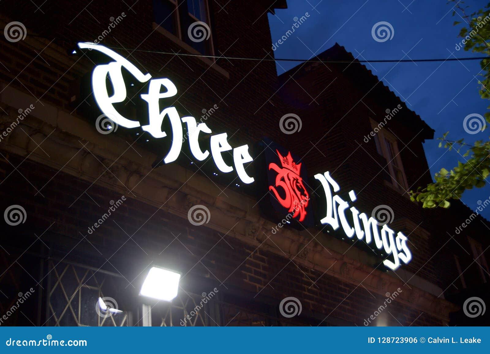三国王Pub和小餐馆,圣路易斯密苏里