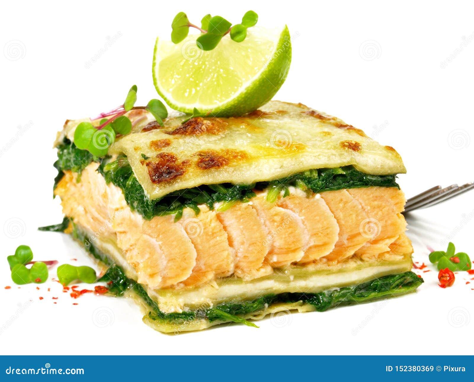三文鱼烤宽面条-鱼烤宽面条