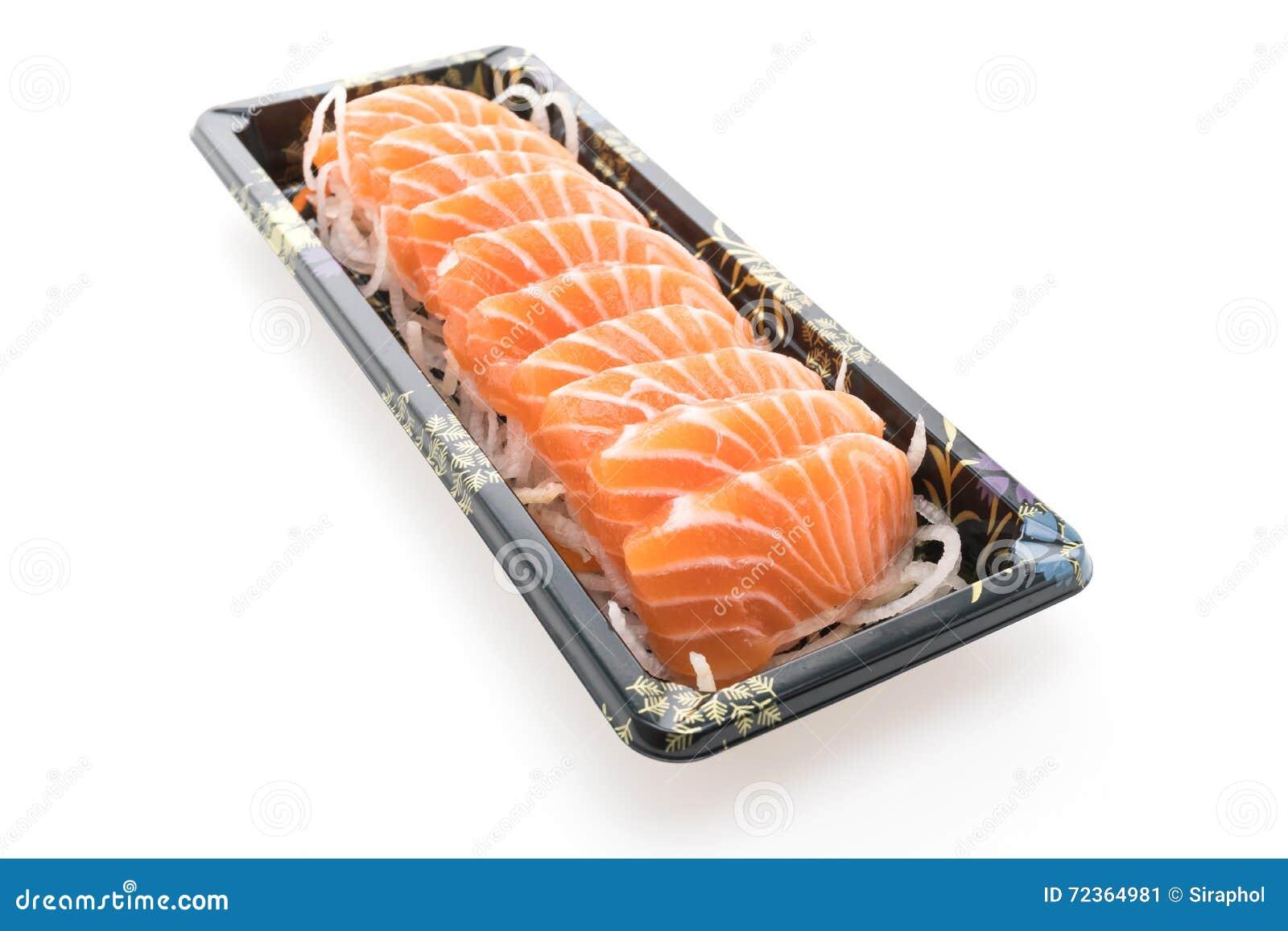 三文鱼生鱼片