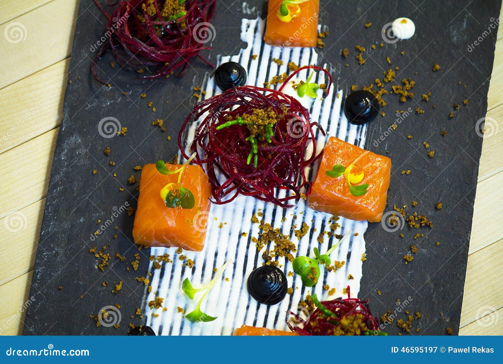 三文鱼用甜菜根