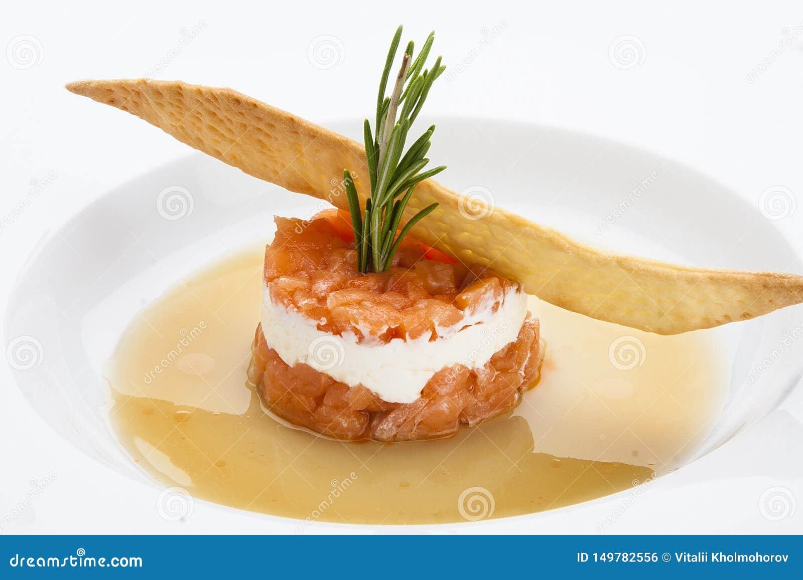三文鱼齿垢用软干酪
