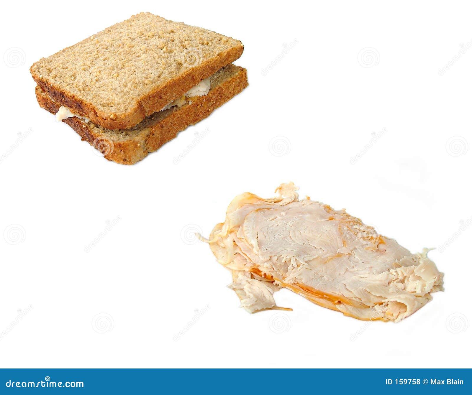 三明治火鸡