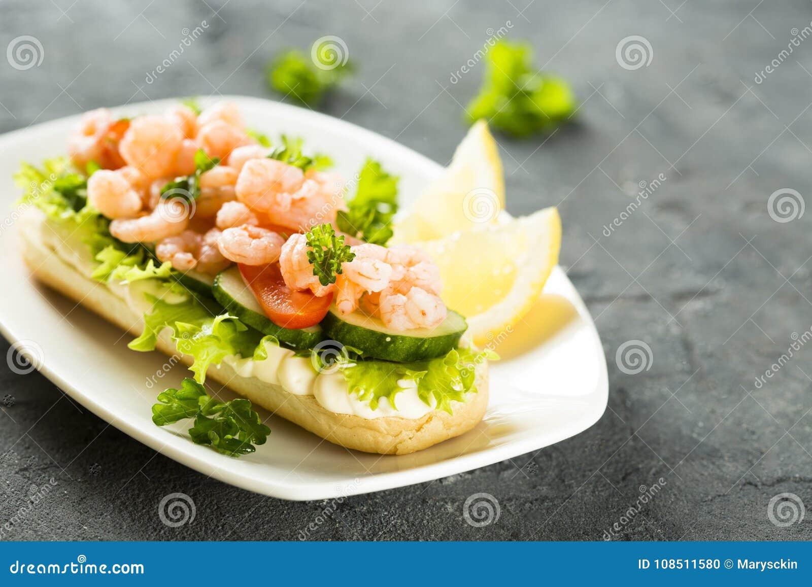 三明治用虾