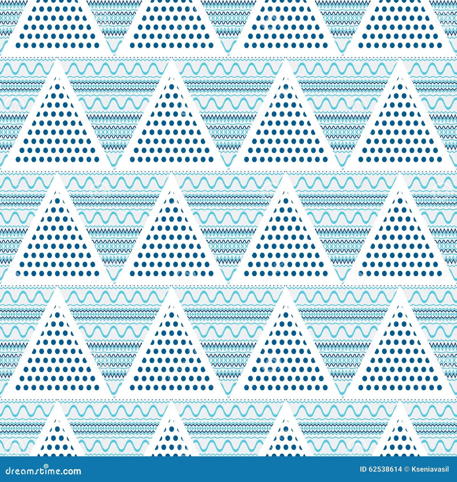 三角几何抽象无缝的样式