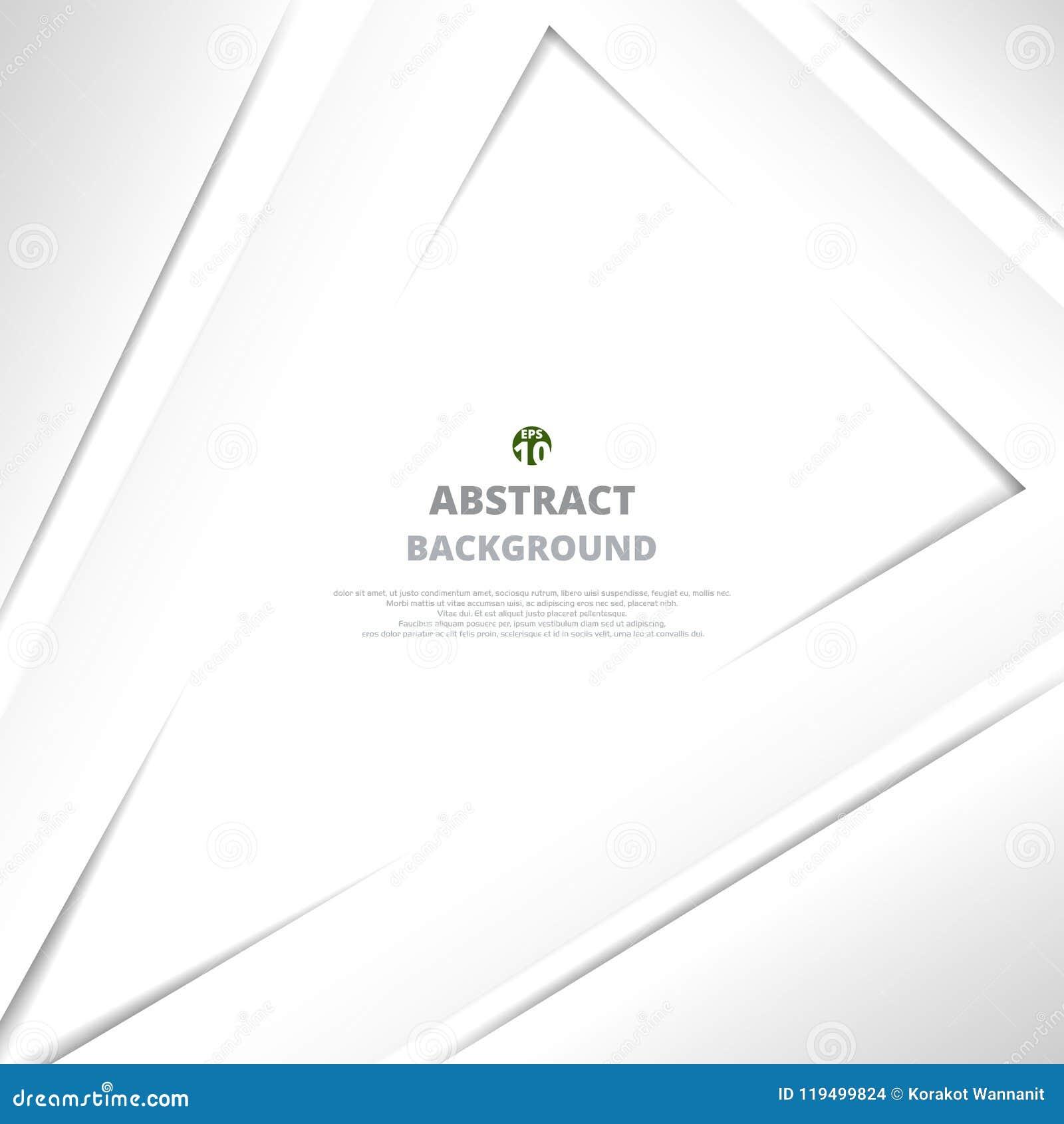 三角灰色纸裁减背景摘要