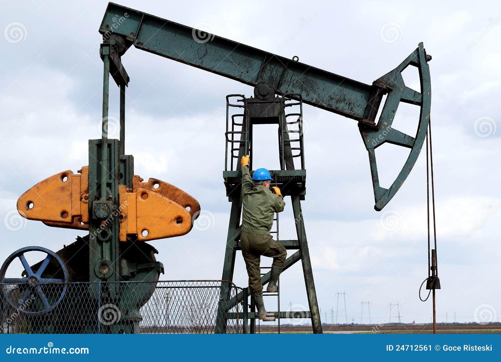 上升油工作者