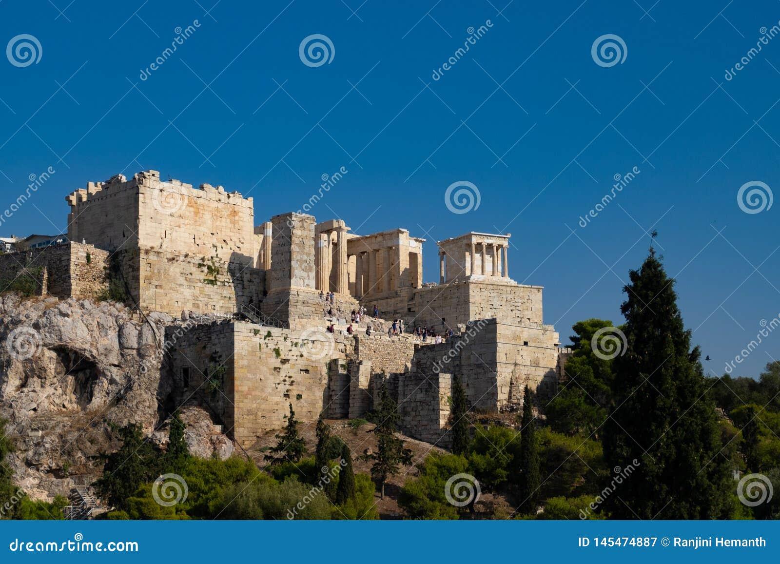 上城在雅典