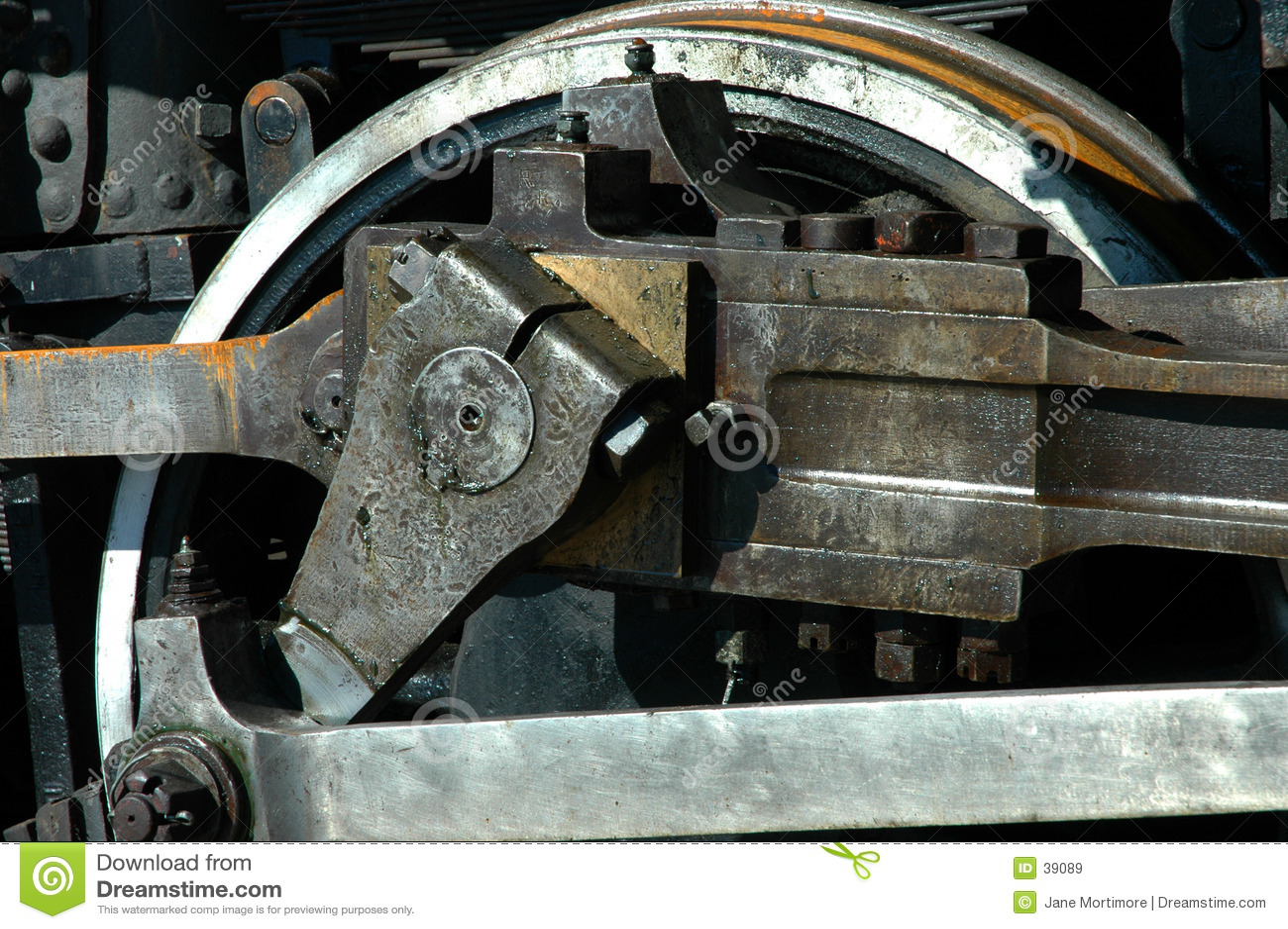 上油的轮子