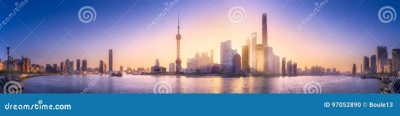 上海地平线都市风景