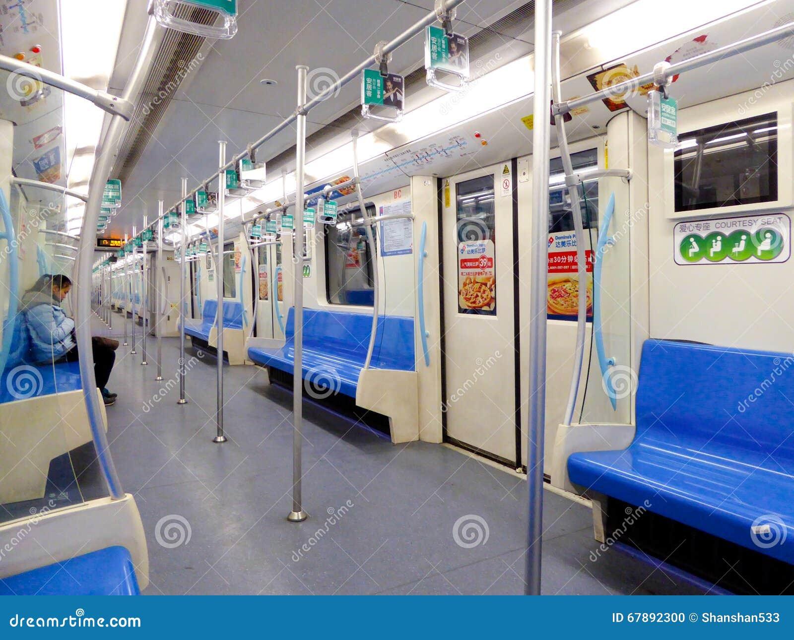 上海地铁内部