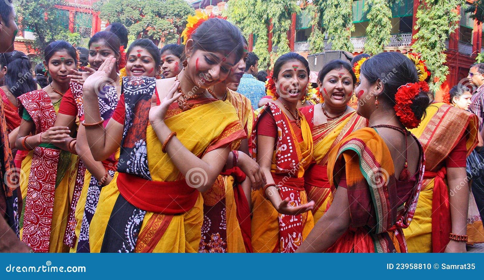 上色节日印度