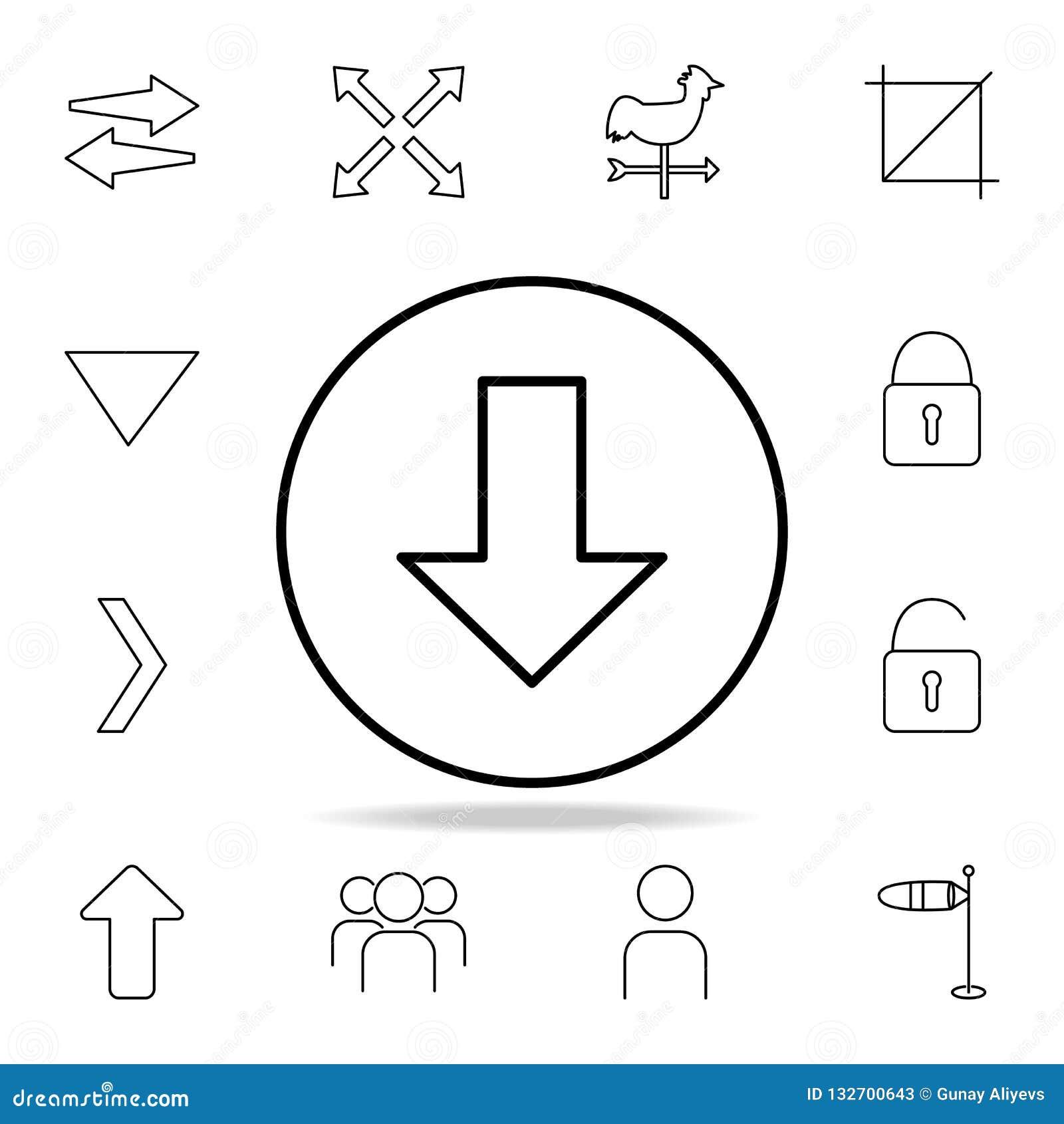 下载箭头象 详细的套简单的象 优质图形设计 其中一个网站的汇集象,网络设计,