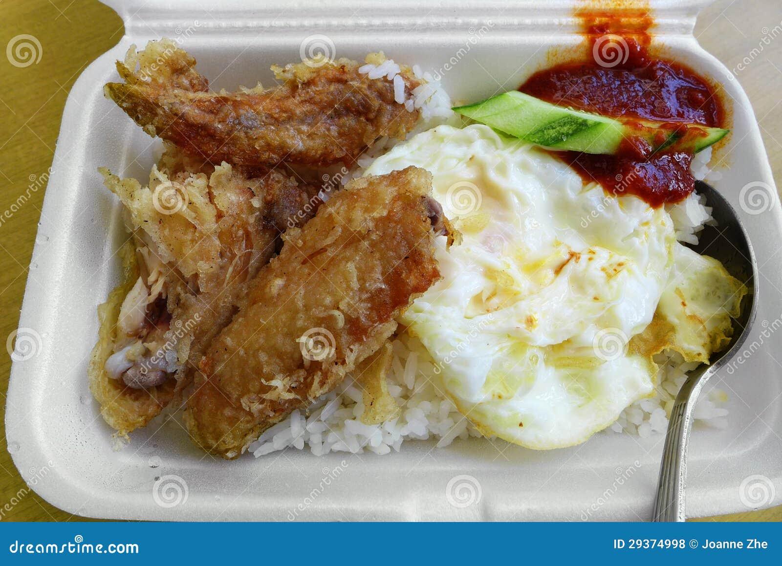 不健康的种族亚洲膳食去掉