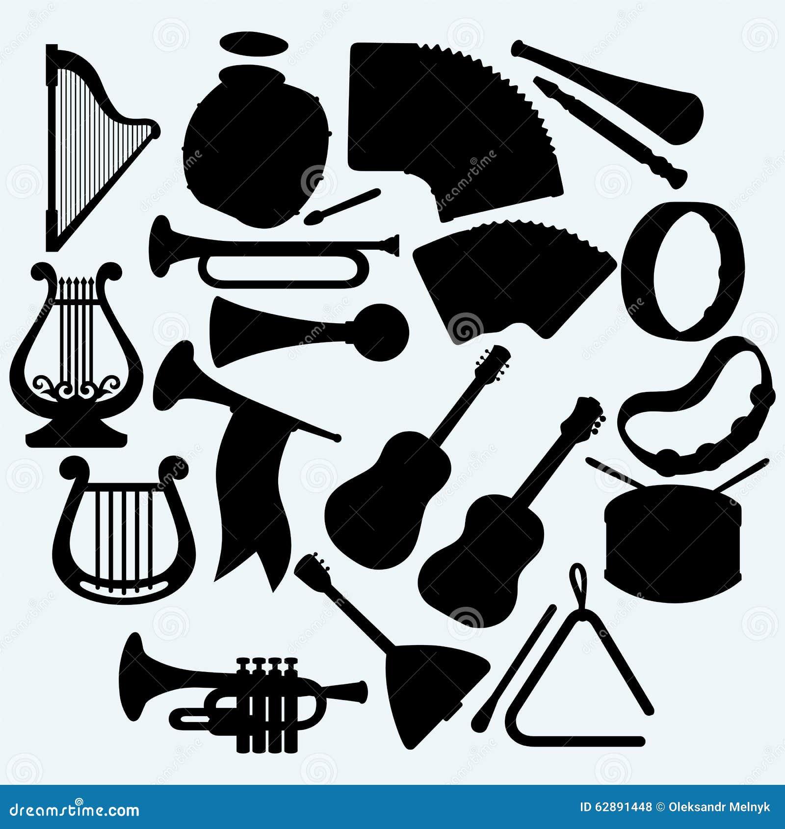 不同的乐器图片