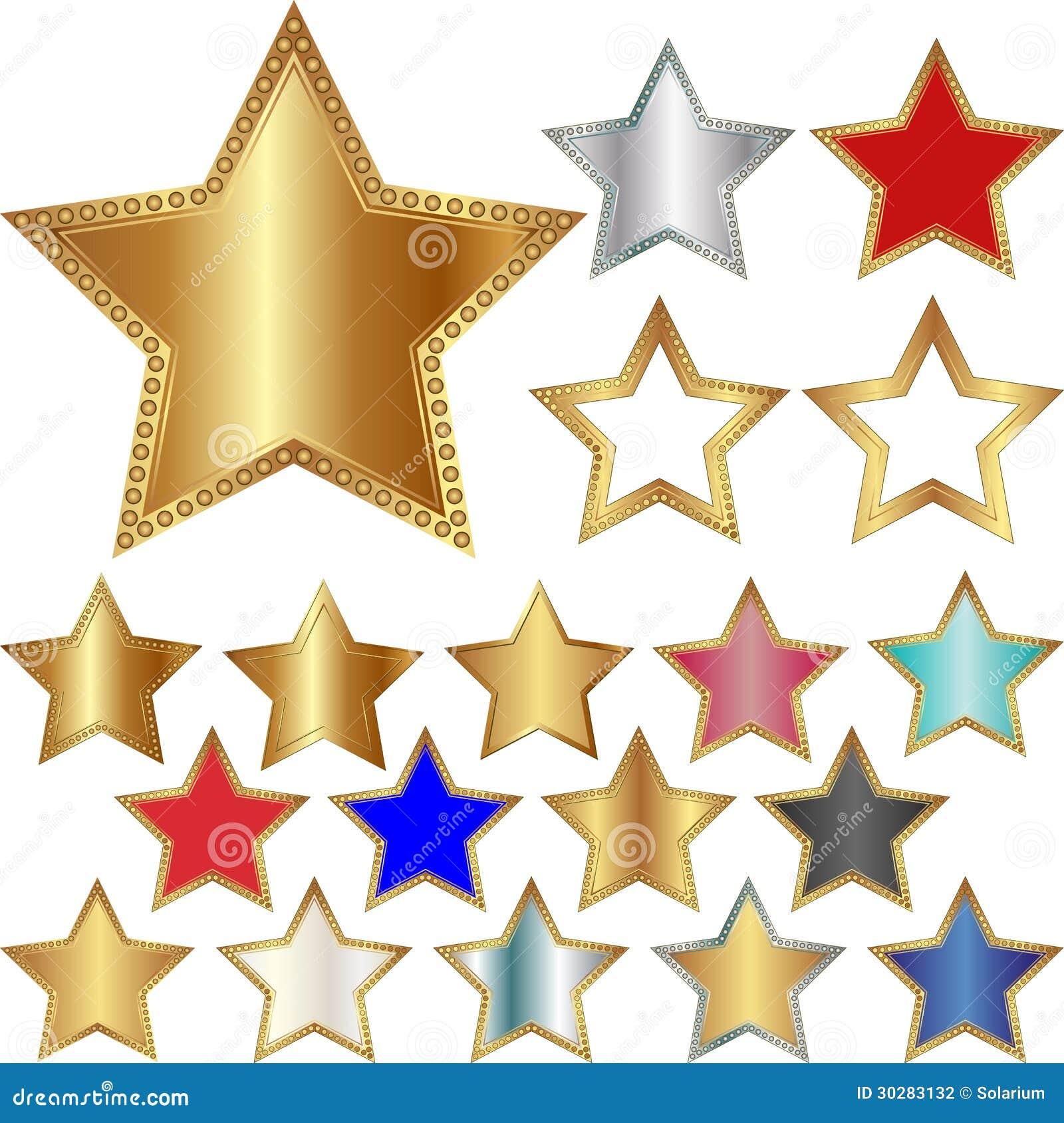 五针对性的星