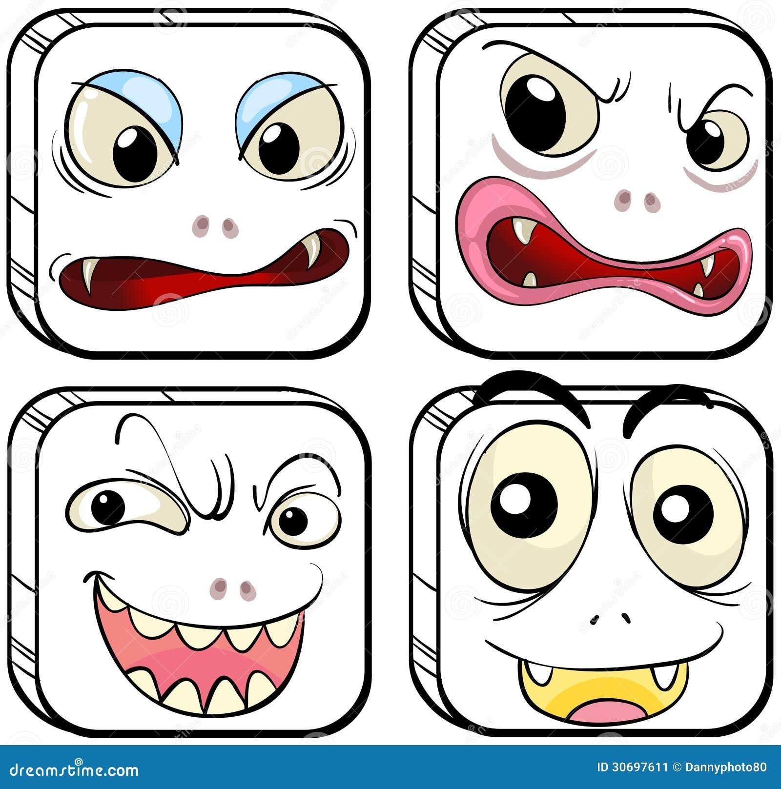 不同的表情图片