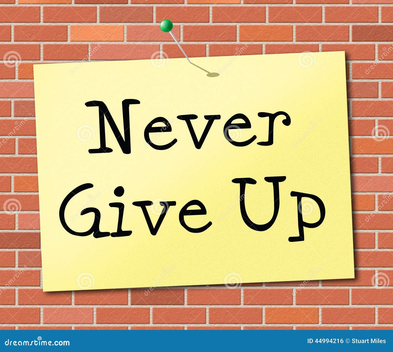 不要给表明刺激承诺并且成功