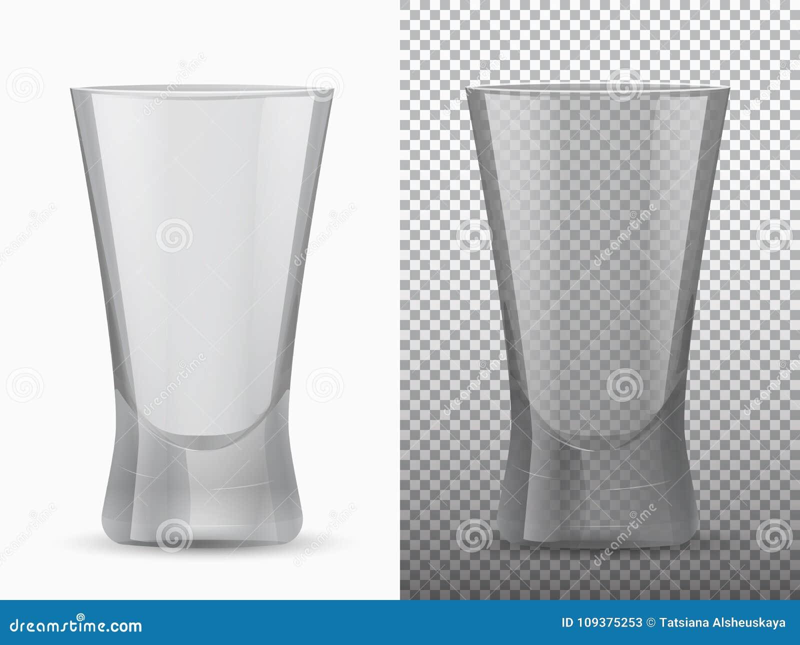 不透明两个空的杯子透明和