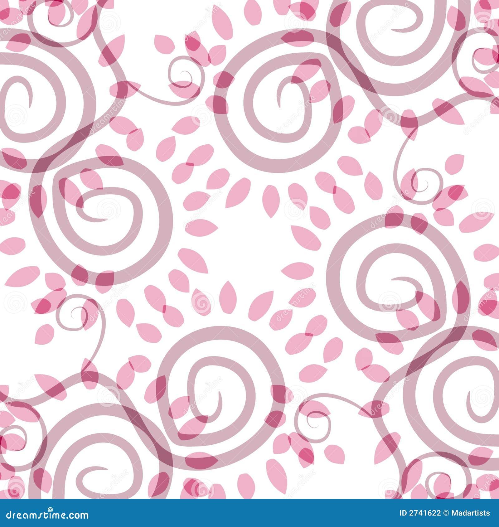 不透明的模式粉红色螺旋