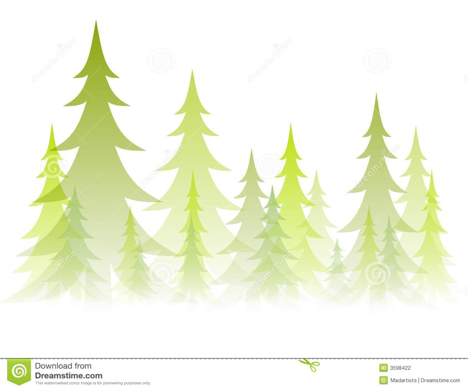不透明的虚拟结构树冬天