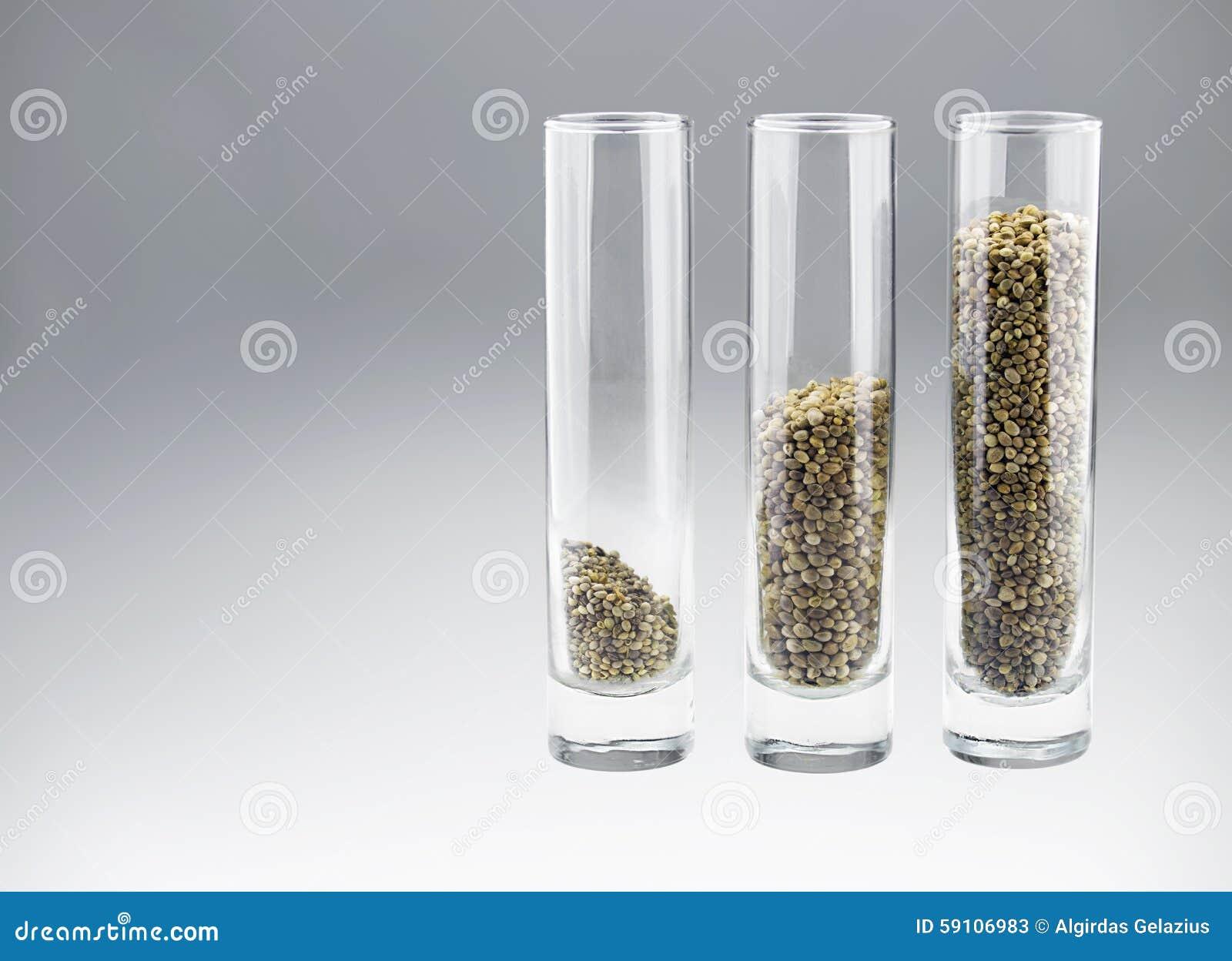 与三的三块玻璃大麻籽