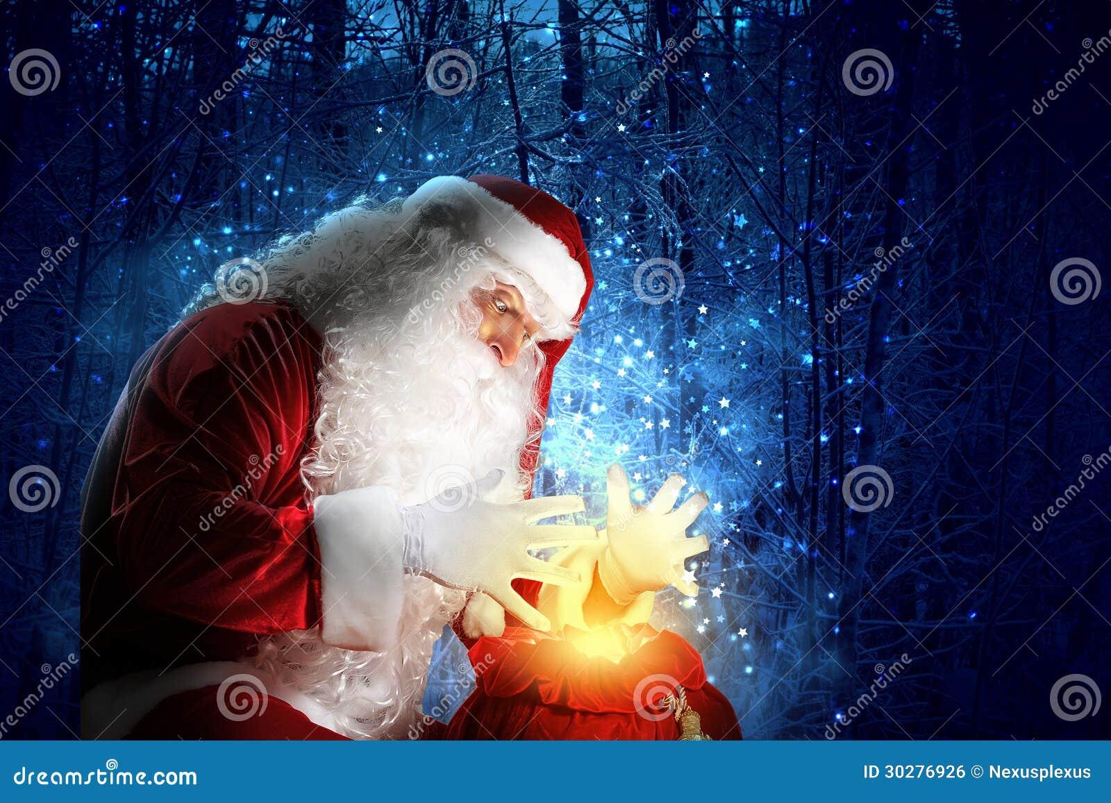 与圣诞老人的圣诞节题材