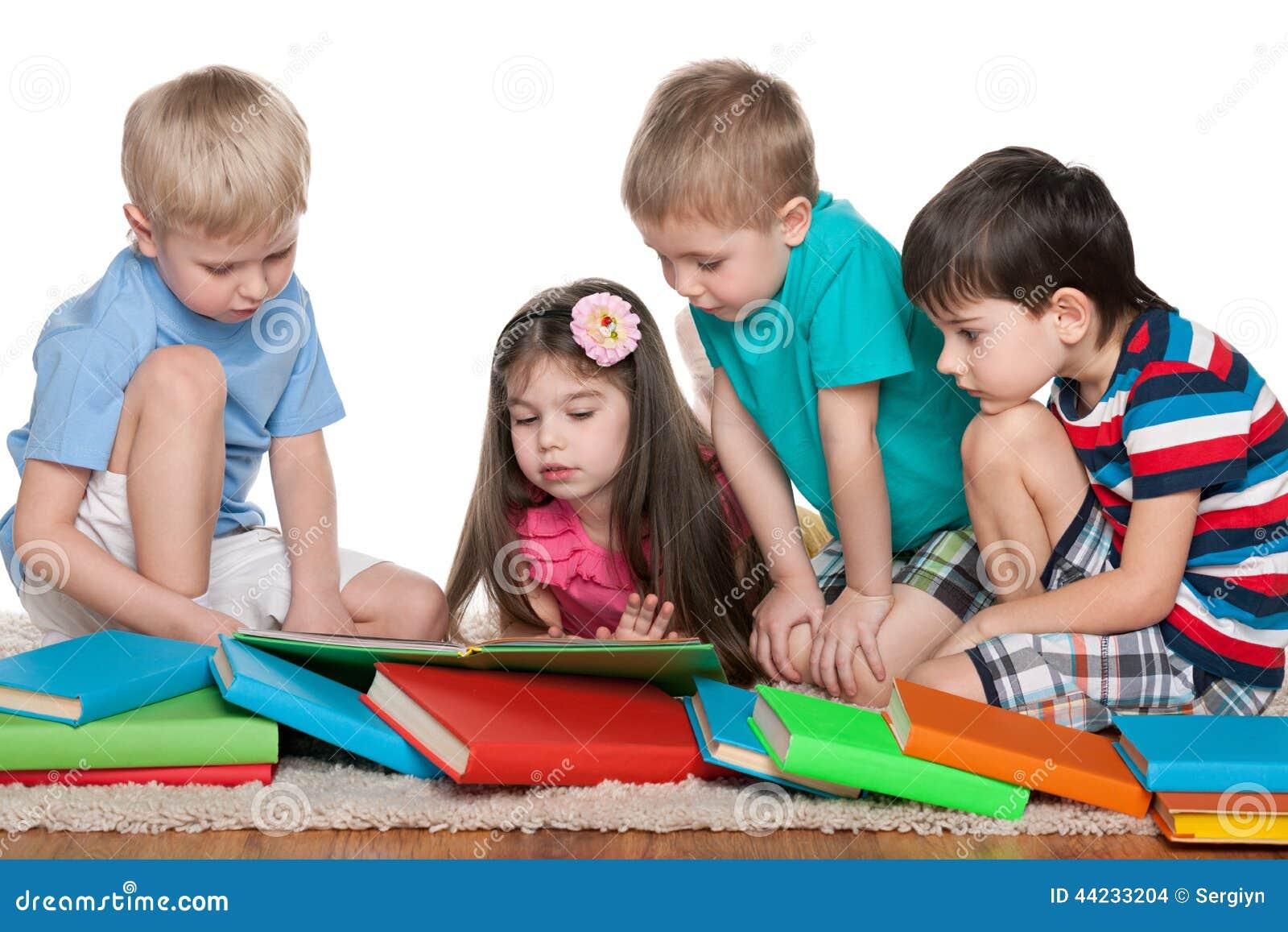 与书的四个孩子
