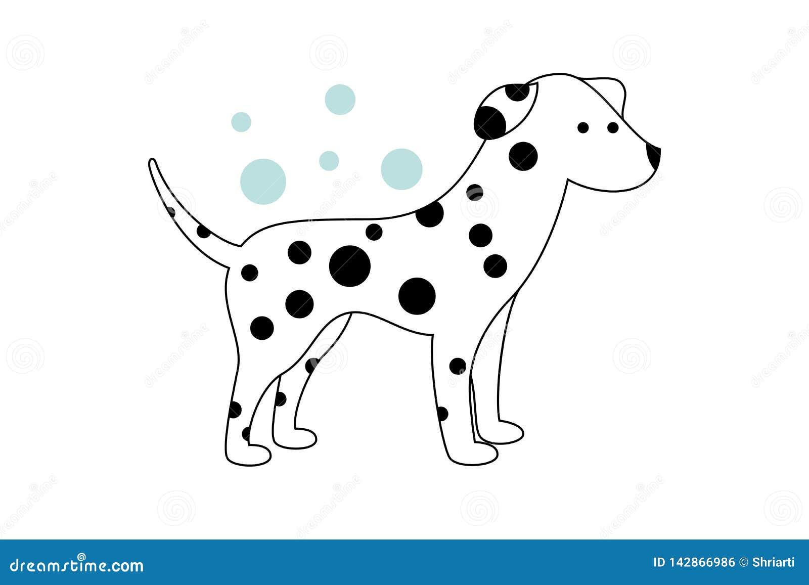 与交通事故多发地段的空白小狗 在背景的蓝色泡影