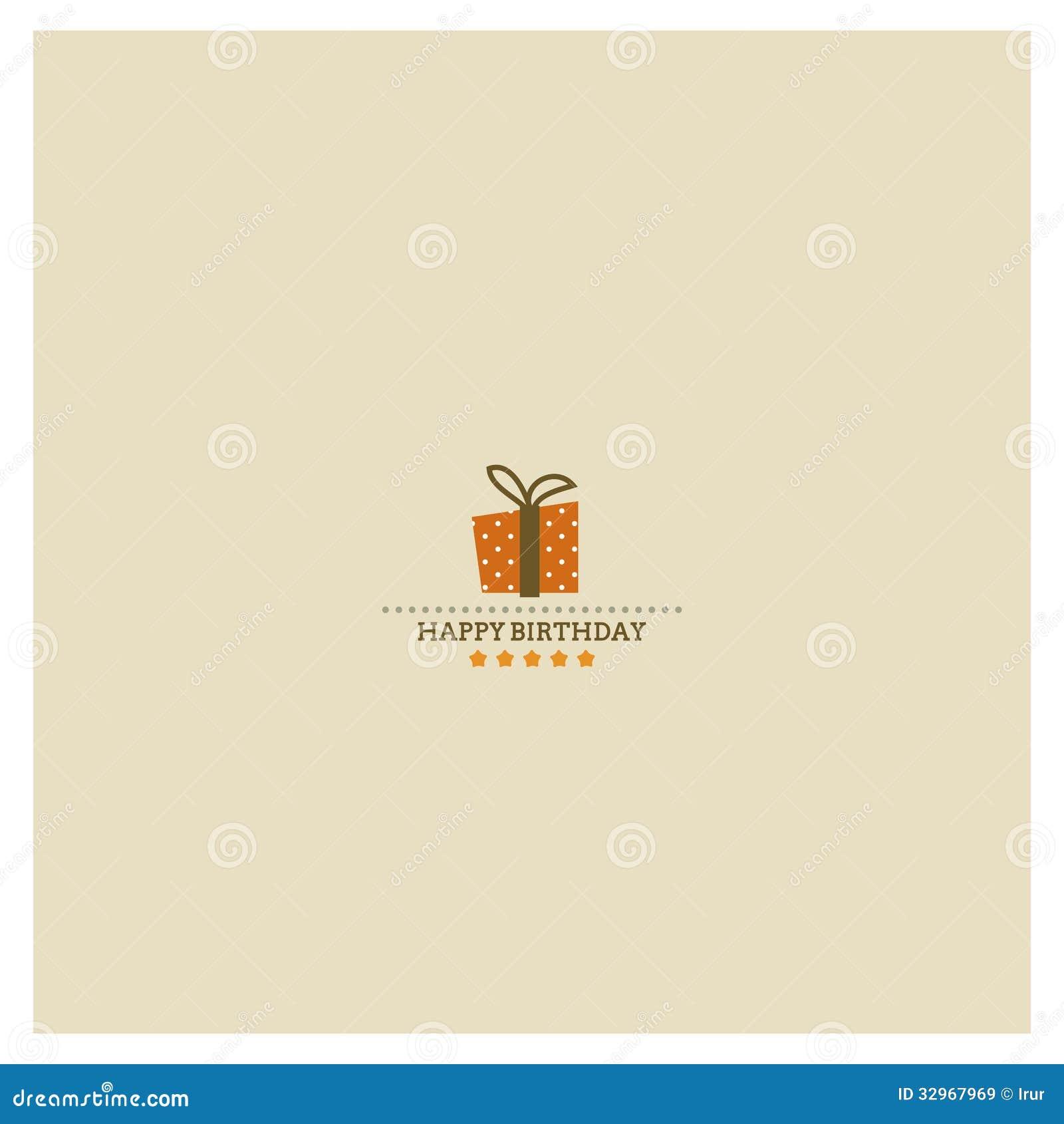 与假日圆点礼物bo的祝生日快乐卡片