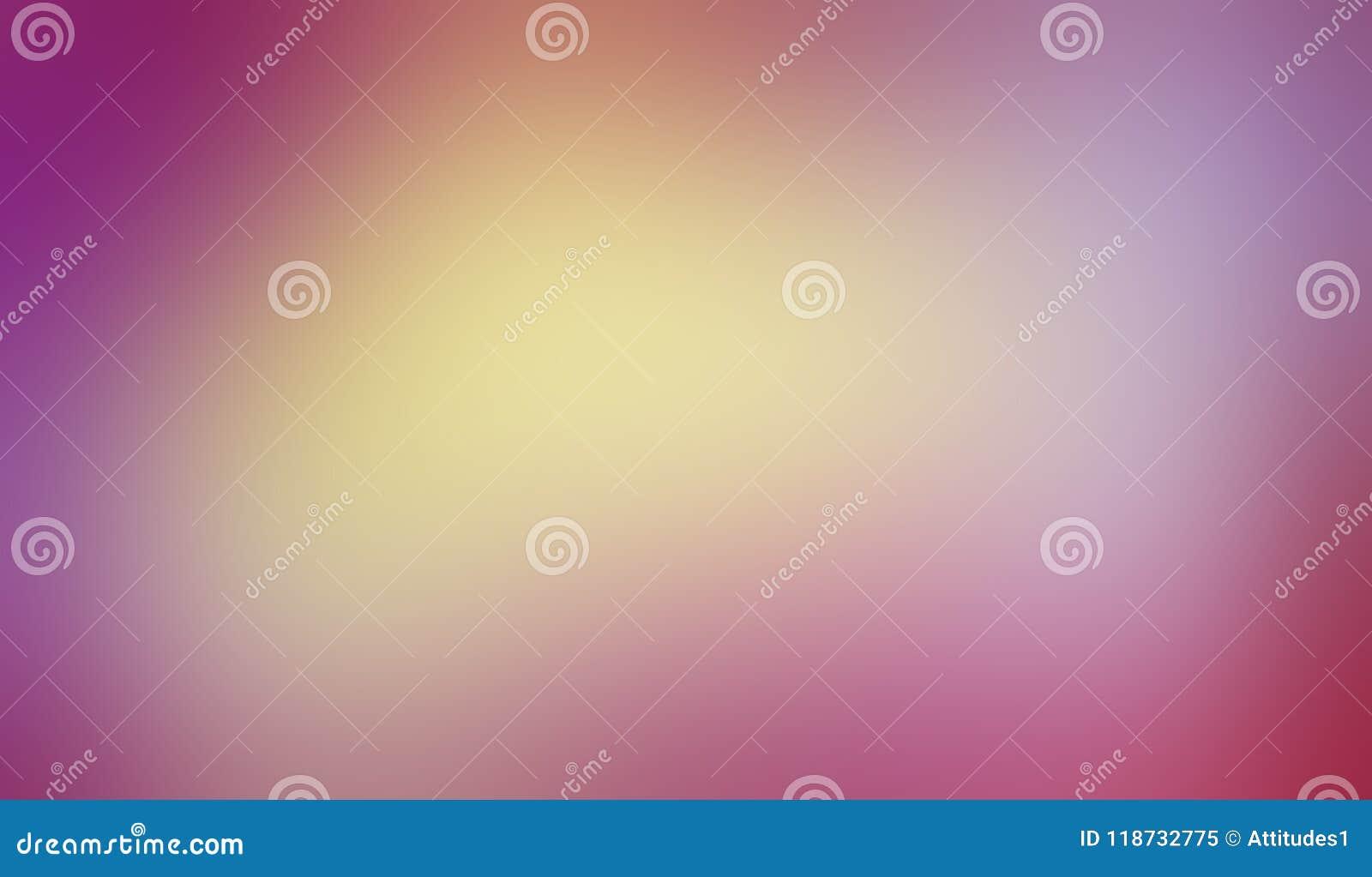 与光滑的被弄脏的纹理的五颜六色的背景在凉快的软性混和了桃红色紫色金银铜合金和蓝色的颜色在充满活力的柔和的淡色彩