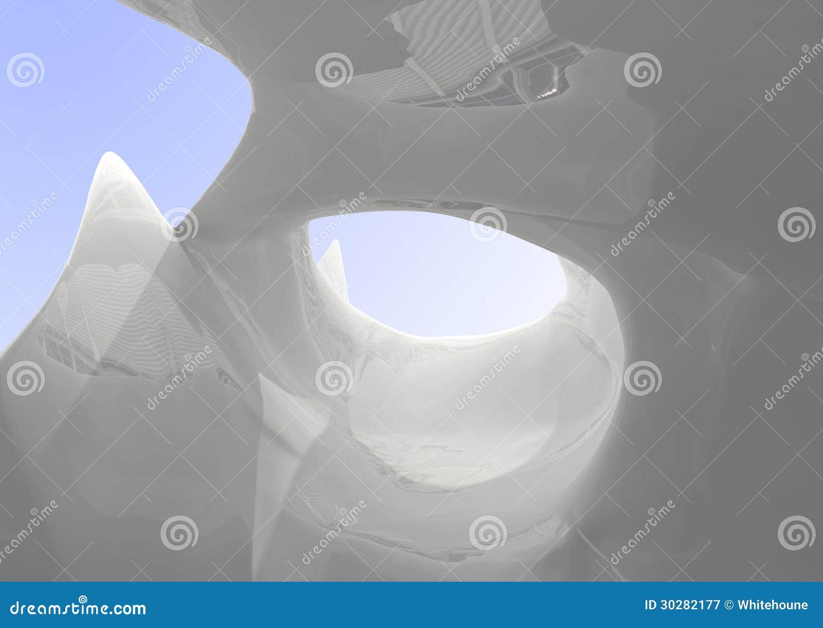 白色塑料表面