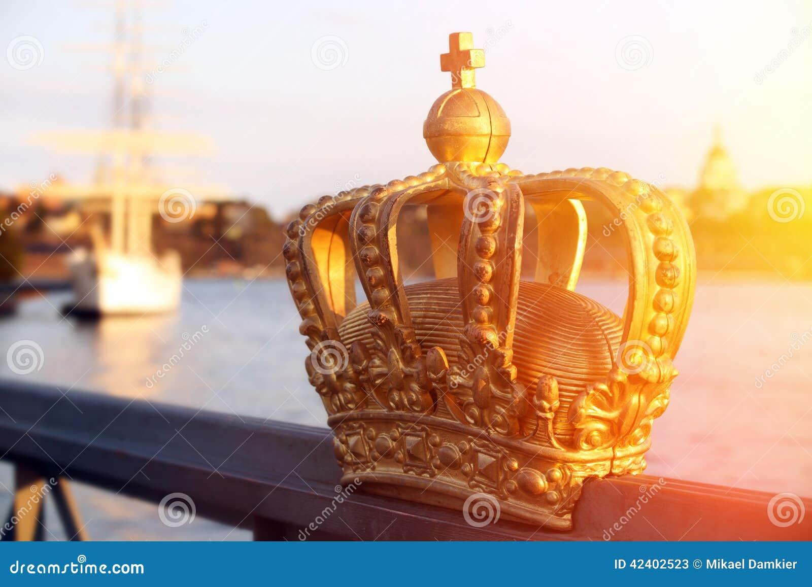 与冠的斯德哥尔摩视图