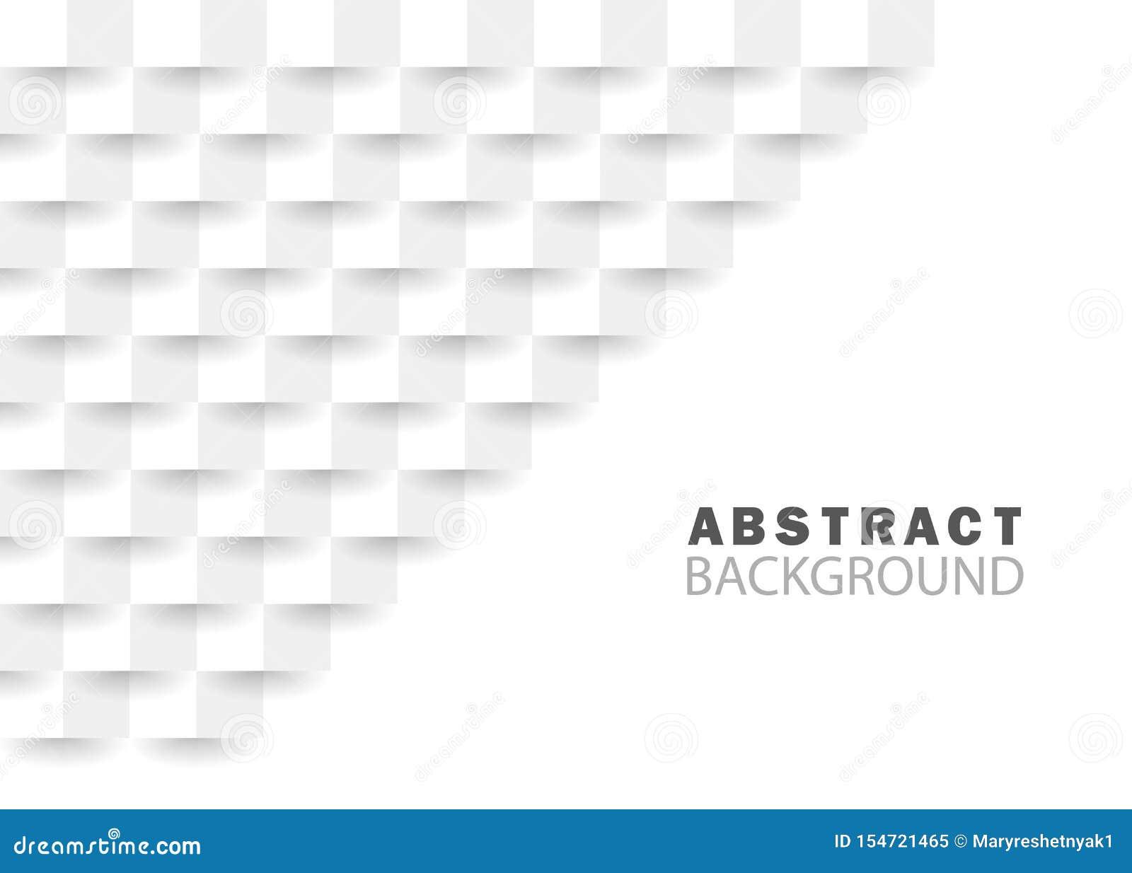 与几何纹理的白色抽象背景现代建筑学背景网站的创造性的几何正方形 库存例证 插画包括有