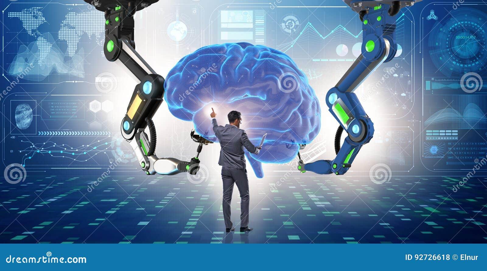 与商人的人工智能概念
