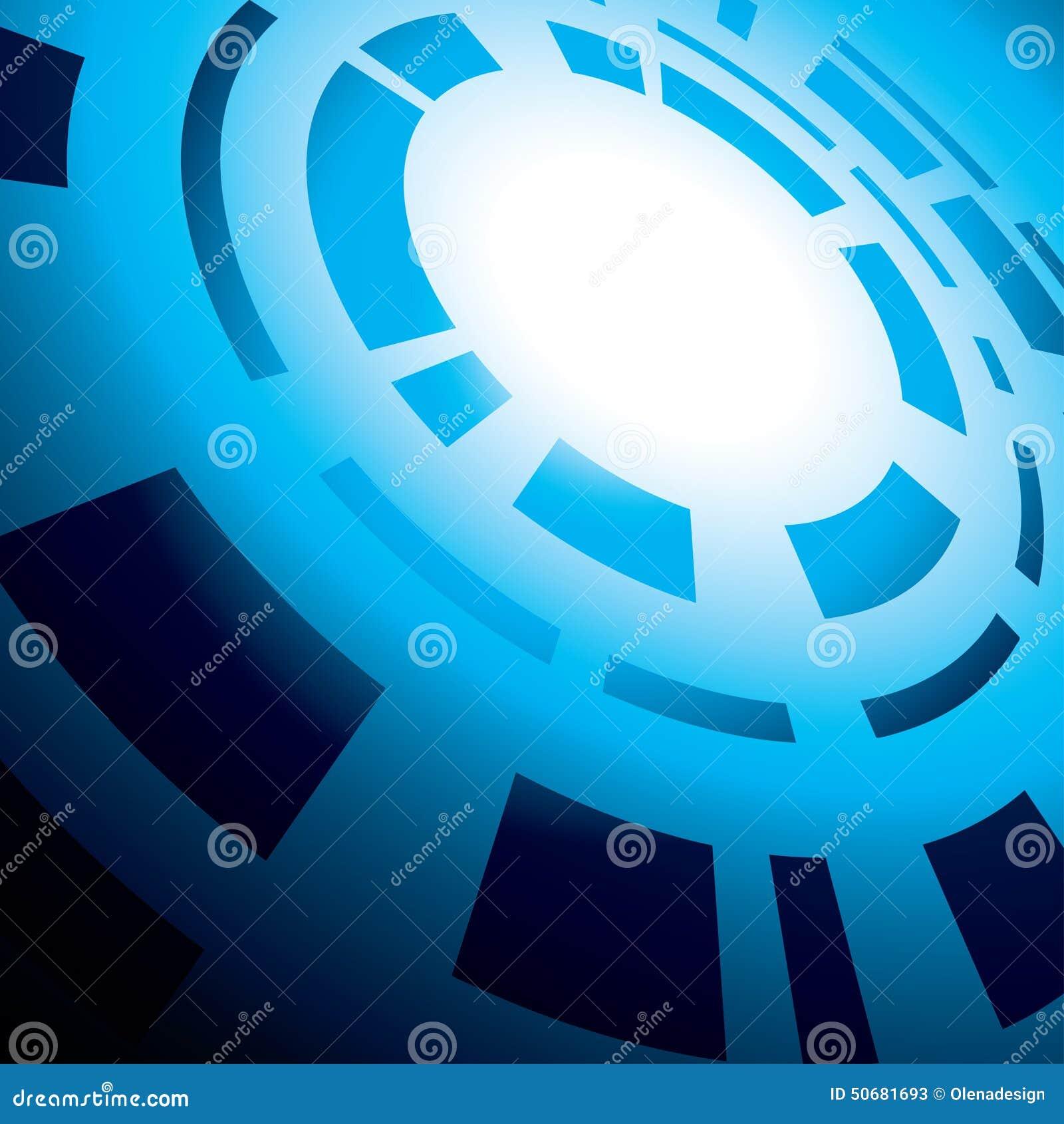 Download 与圆的抽象的蓝色抽象背景 向量例证. 插画 包括有 抽象, 照亮, 背包, 透明, 黑暗, 梯度, 设计 - 50681693