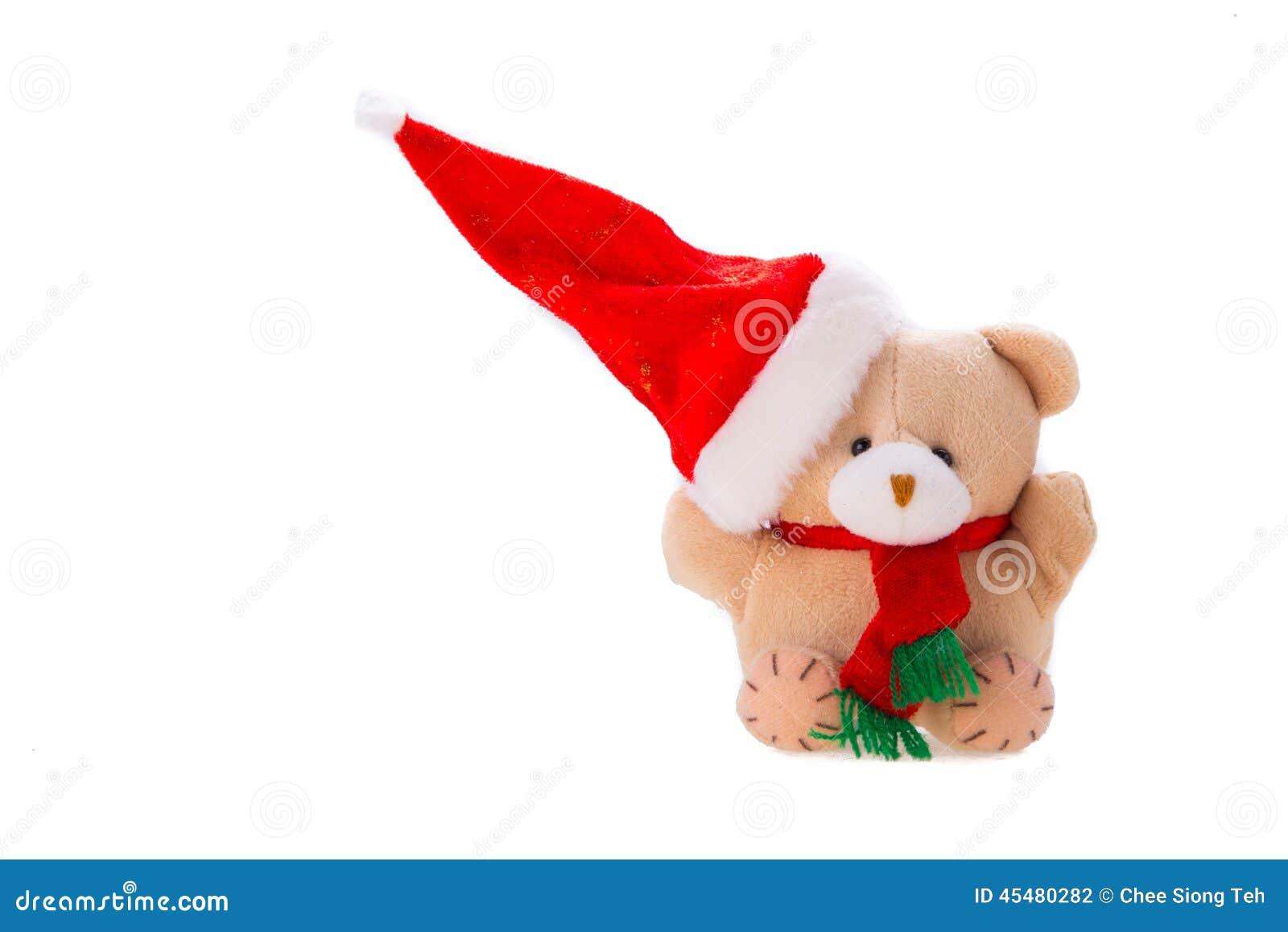 与圣诞节礼物的熊