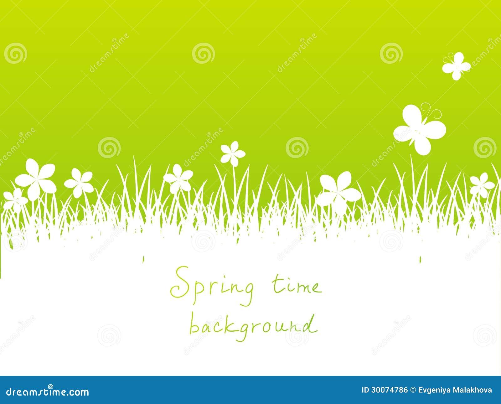 绿色春天背景