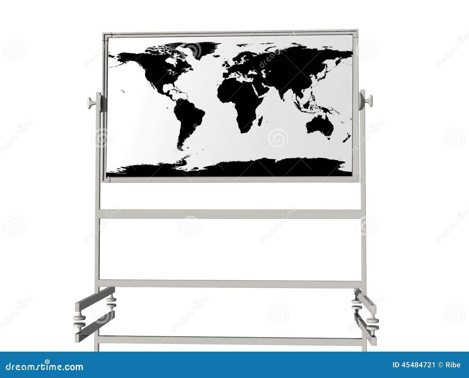 与地球地图的校务委员会