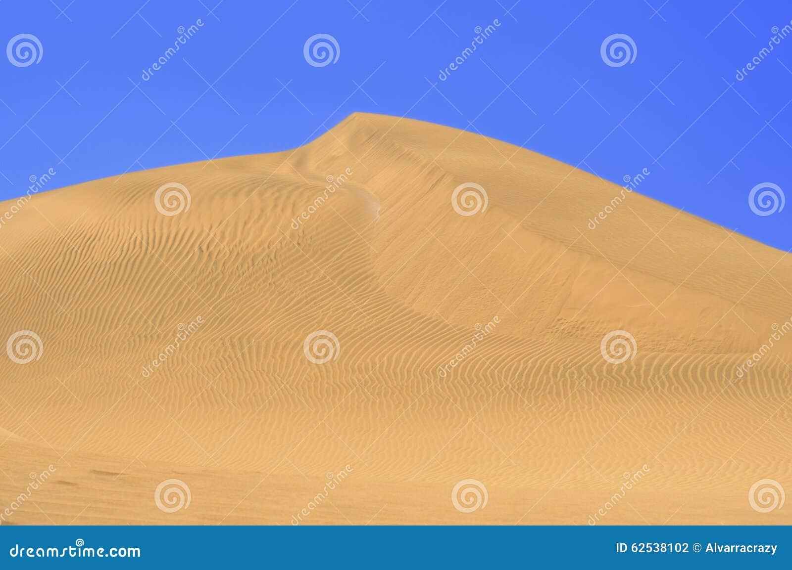 与大加那利岛, Canarian海岛沙丘的美好的风景