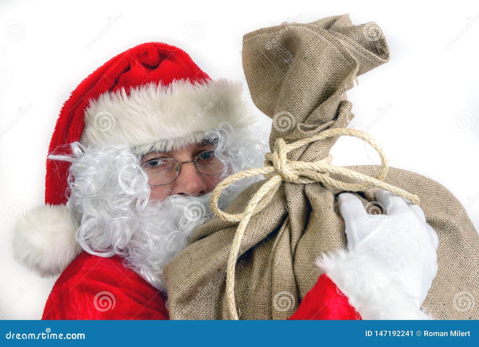 与大大袋的圣诞老人项目