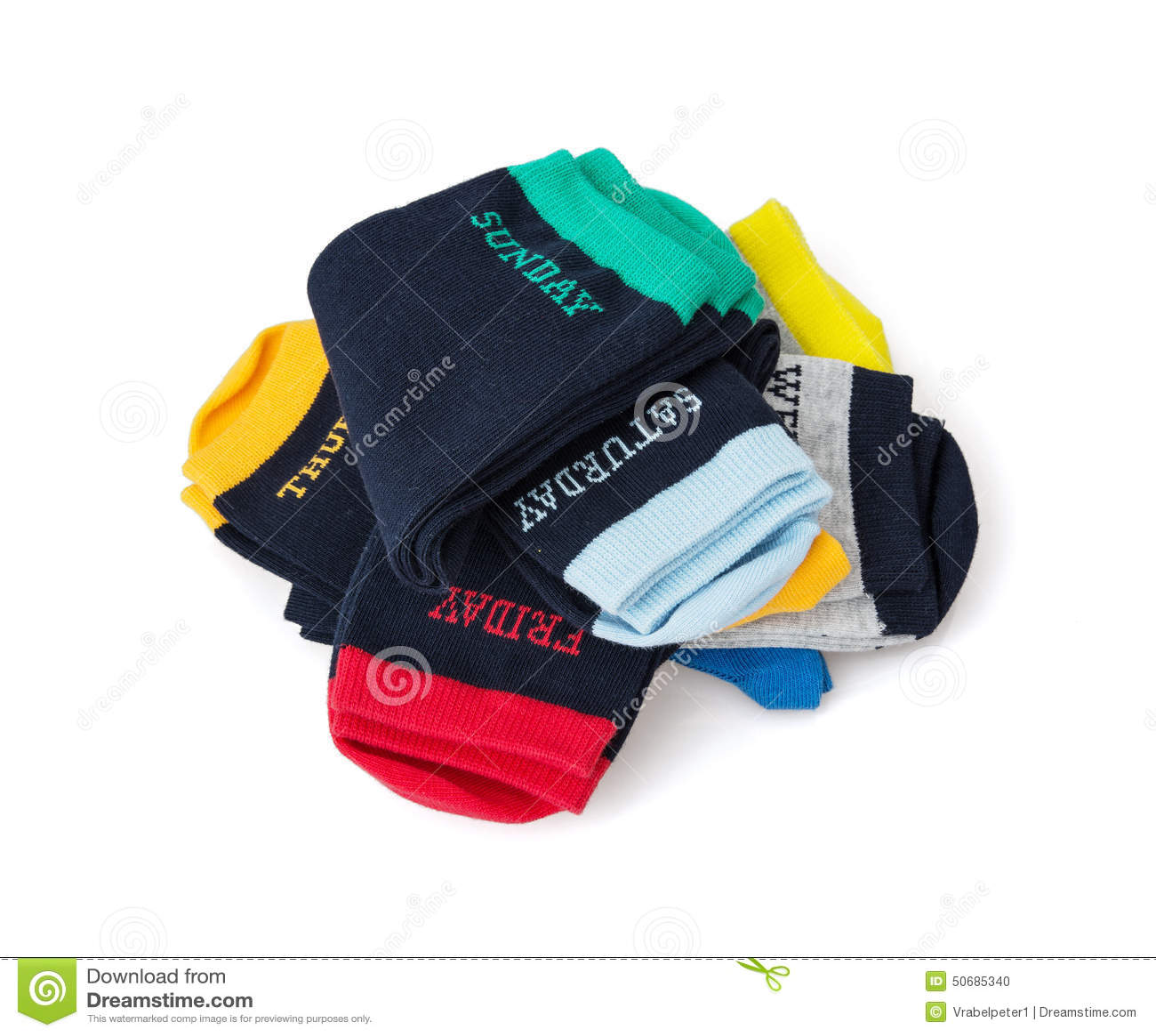 Download 与天的题字的滑稽的袜子在白色ba的 库存照片. 图片 包括有 子项, 星期六, 幽默, 滑稽, 赞誉, 星期一 - 50685340