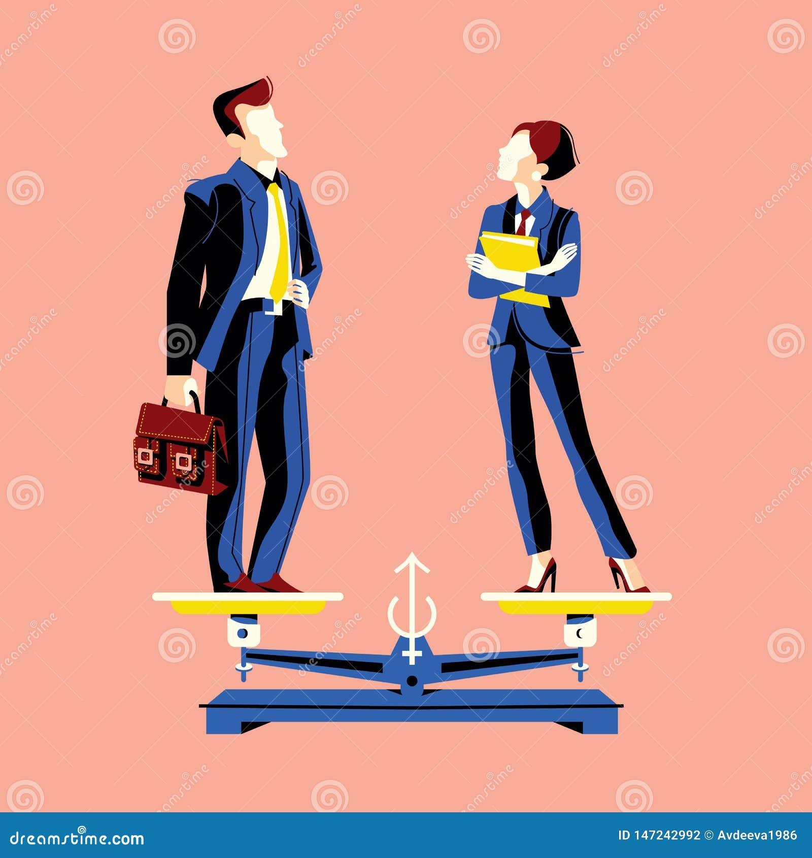 与妇女和人的男女平等概念相等的高度等级的