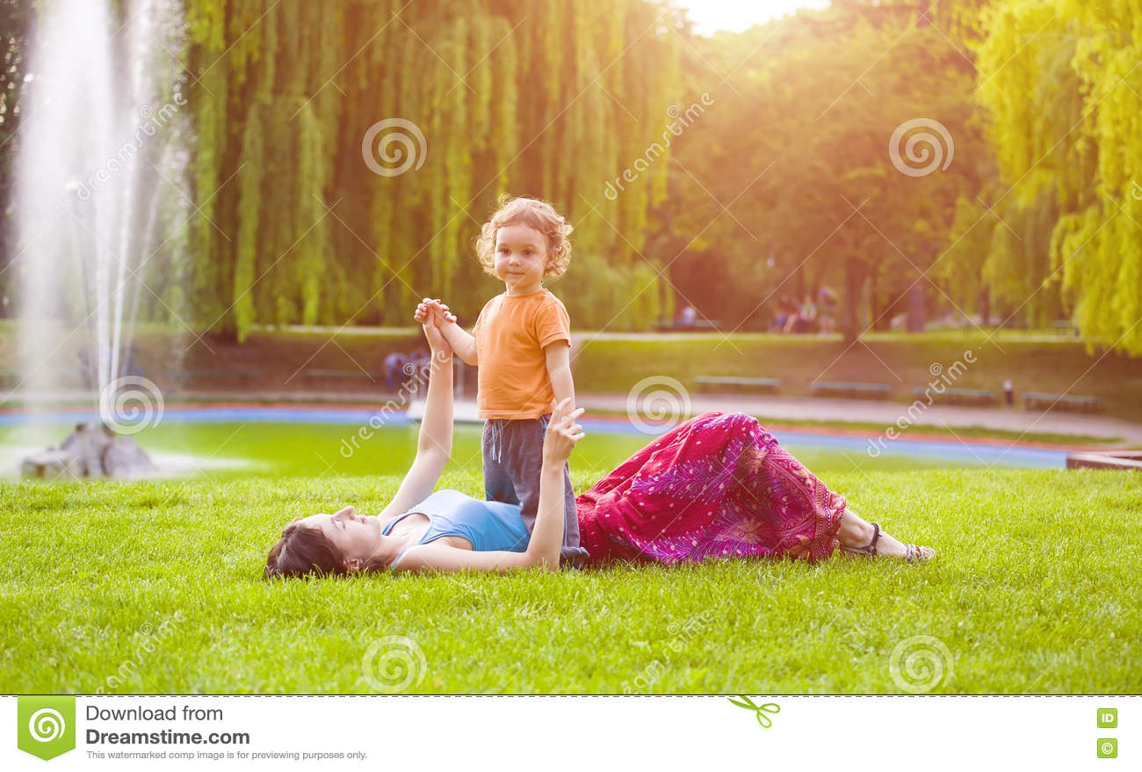 与孩子的妈妈戏剧