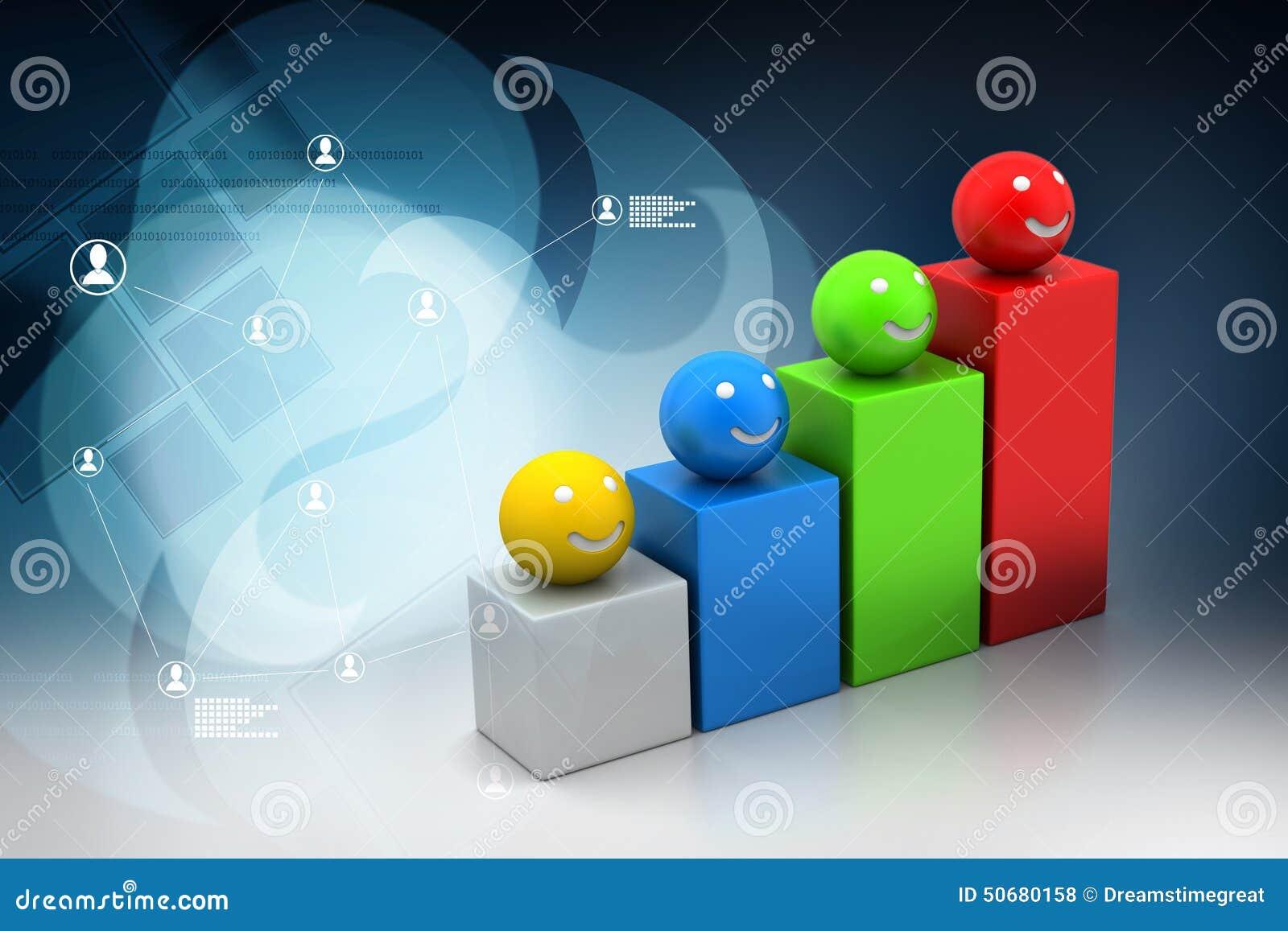 Download 与微笑的球的成长图表 库存例证. 插画 包括有 专业人员, 逗人喜爱, 总公司, 红色, 背包, 图形, 线路 - 50680158
