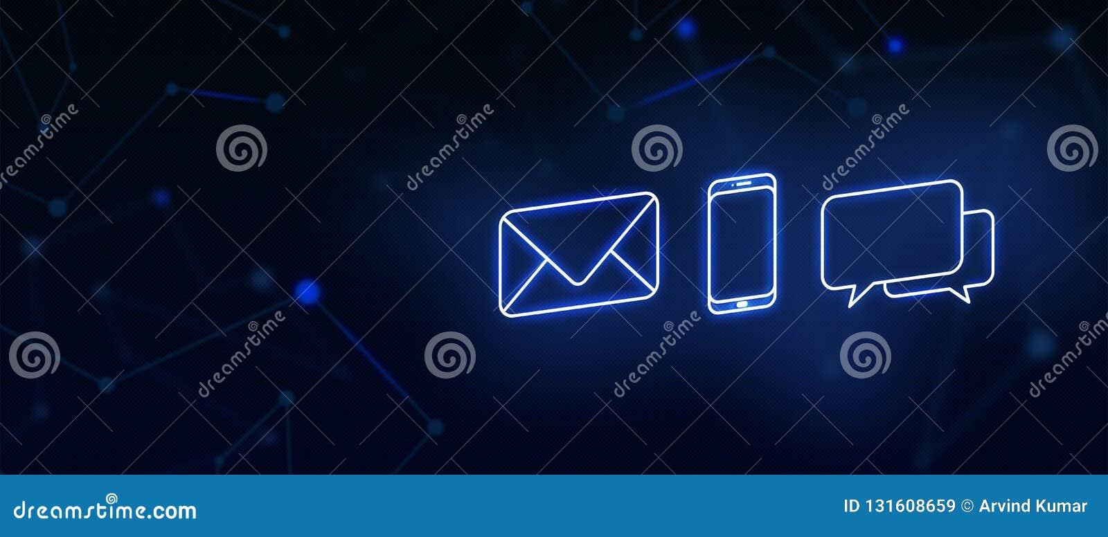 与我们,联络,电子邮件联络,电话,消息,着陆页,背景,封页,象联系