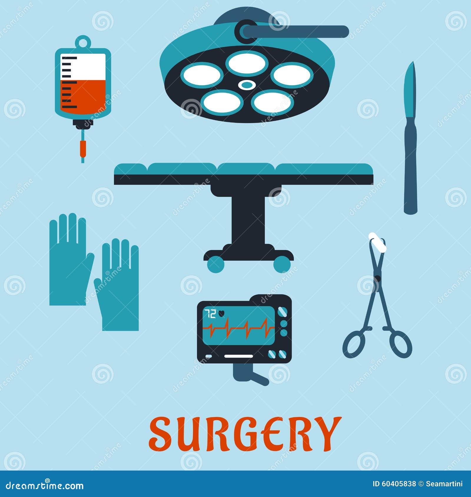 与手术室的手术平的象