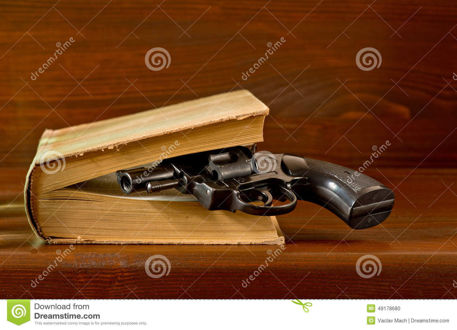 与手枪的书