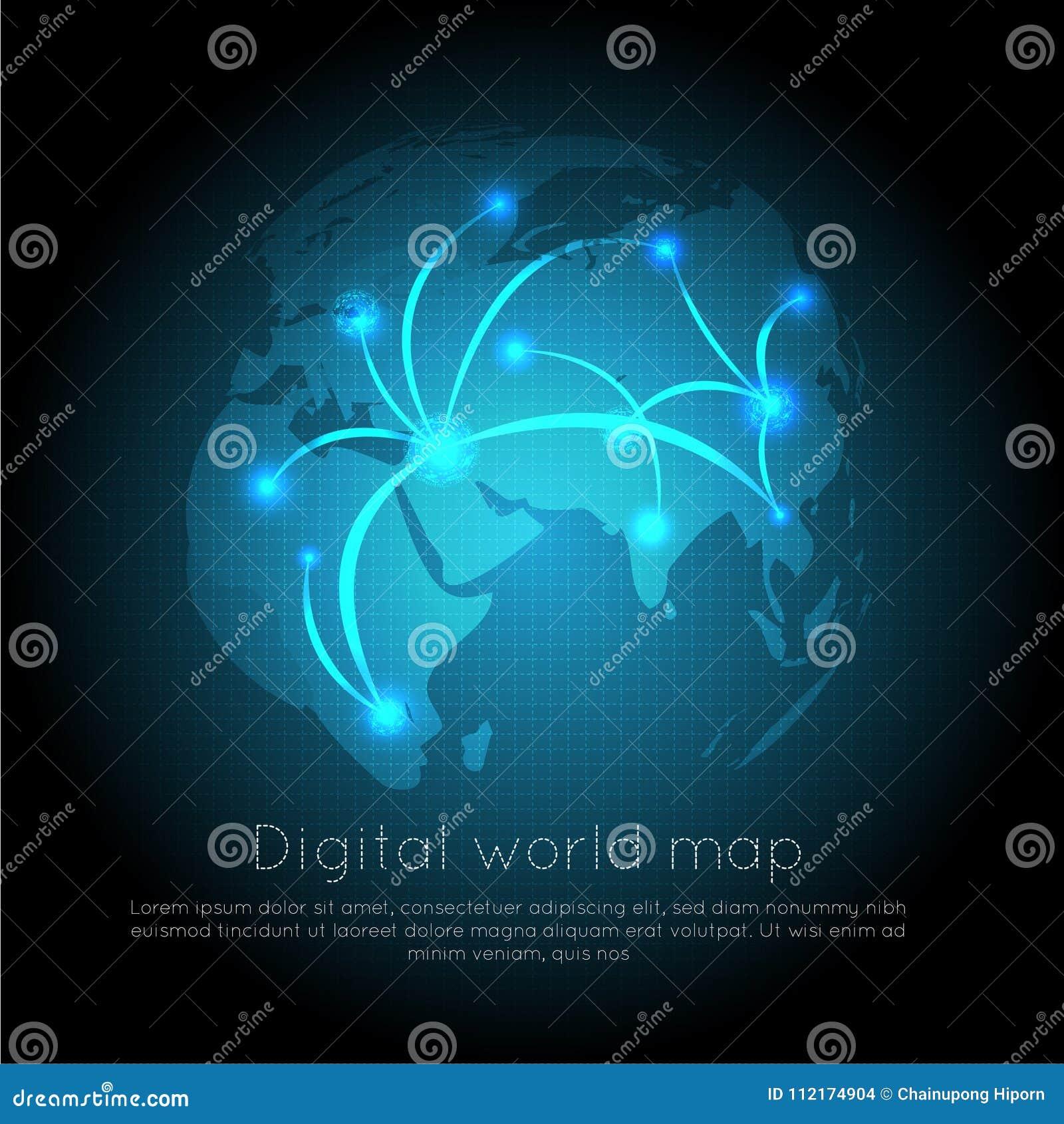 与技术电路板纹理的抽象数字式背景 电子主板 通信和工程学概念 我